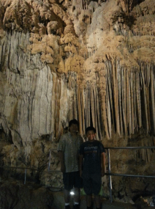 Some of the very cool caves we saw on our trip.