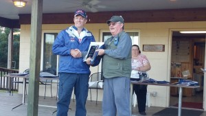 Harold being awarded 2nd place in WFTF PCP by match director Chris Martin