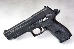 The Sig Sauer P225 X-Five is an excellent traning airgun if carrying a full-sized 9mm is your eventual goal.