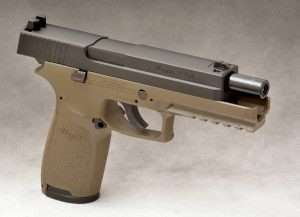 The ASP is 8.0 inches in length, slightly taller at 5.75 inches (top of the rear sight to the base of the magazine well), and 1.4 inches in width.