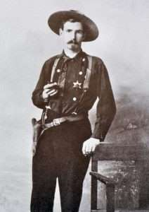 This early 1900s Arizona lawman carried a new Luger Parabellum in a Mexican-style double drop loop holster. Proof that new guns and old ways managed to harmonize in the west. (Photo courtesy R.L. Wilson, The Peacemakers)
