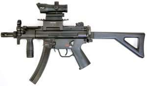 4A post MP5 K PDW