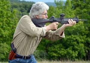 You can always rely on a traditional forend hold when shooting a rifle, but there are other methods.