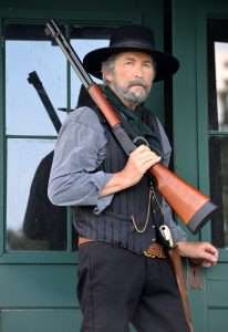 The Walther lever action is very close in size and weight to the Winchester Model 1894 Carbine. It's easy to carry and easier to shoot.