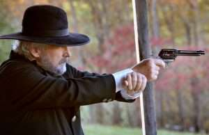 Taking a page from history the author fired the tests using the same technique as Wild Bill Hickok (in a long distance shootout), by resting the gun hand over the left wrist for added stability.