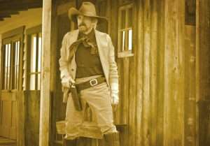 It is most remarkable how great a role aesthetics actually played in a cowboy's choice of dress and armament, from hats to holsters, and knives to guns.