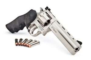 The latest Dan Wesson .357 Magnum revolver is the basis for the top two ASG CO2 versions.