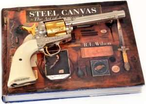 Nothing says American West like an engraved Colt Peacemaker. When Umarex introduced the 5-1/2 inch barrel length .177 caliber model in 2015, it wasn't long before a 4.5mm pellet firing six-shooter was added. The latest limited edition is this gold and nickel version of an L.D. Nimschke model sold in the 1870s by New York retailer Schuyler, Hartley, & Graham.