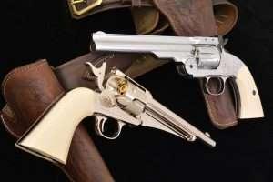 Crosman Remington Model 1875 vs  Bear River Schofield