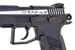 Testing the CZ 75 P-07 Duty Part 1   Airgun Experience