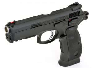 First Look: ASG's CZ-75 SP-01 Shadow Blowback Action Pistol