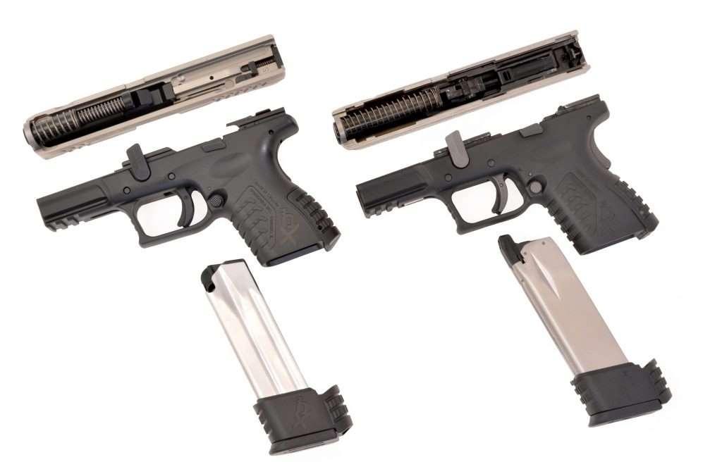 Prava in zračna pištola XDM