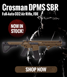 Crosman DPMS SBR Full-Auto CO2 Air Rifle
