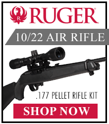 Ruger 10/22 .177 Pellet Rifle Kit