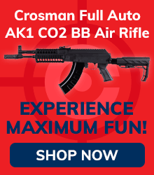 Crosman Full Auto AK1 CO2 BB Air Rifle