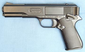 Vintage marksman repeater metal. 177 cal. Pistol parts   #131438555.