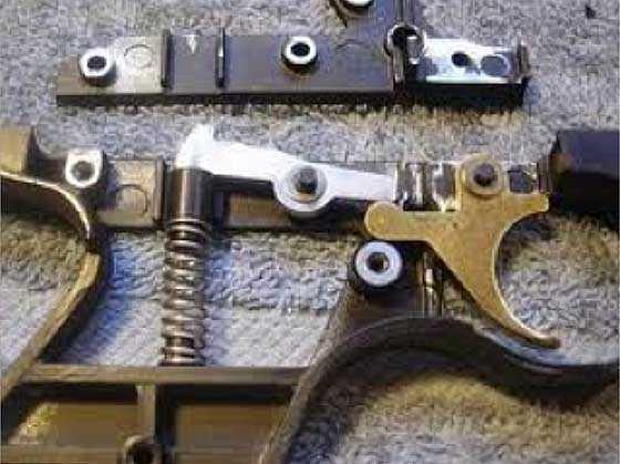 How to make air gun trigger