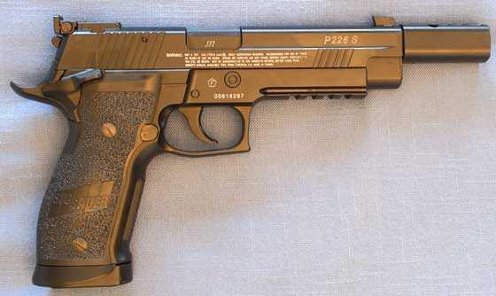 SIG Sauer P226 X5 BB pistol: Part 1 | Air gun blog - Pyramyd