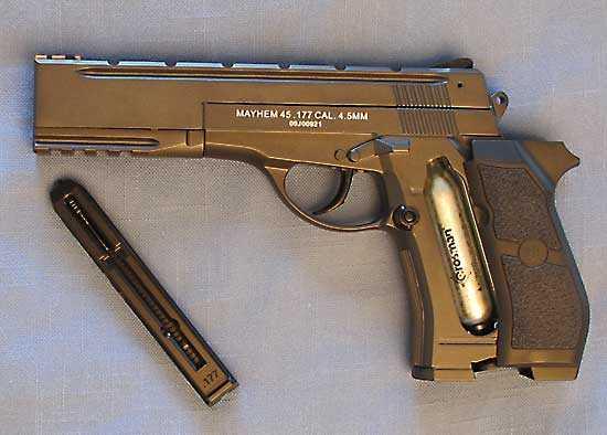 Mayhem  45 Sport Tactical air pistol: Part 1 | Air gun blog