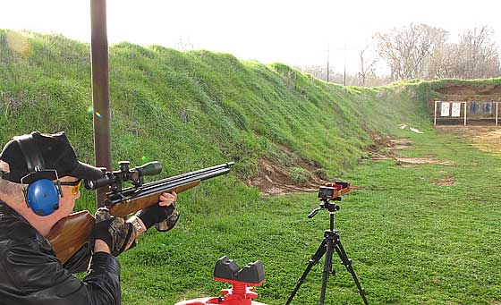 Air Rifle Shooting Range Air Rifle Shooting Range Then