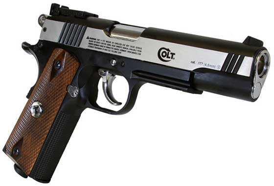 Colt 1911 Special Combat CO2 BB pistol: Part 1 | Air gun blog ...