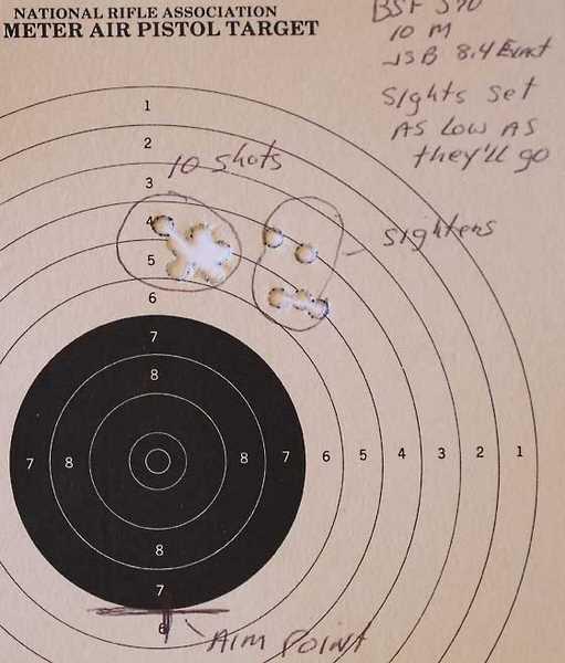 BSF S70 target
