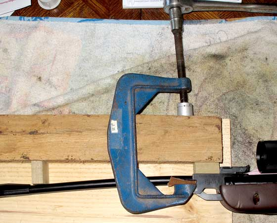 barrel bending fixture with new clamp