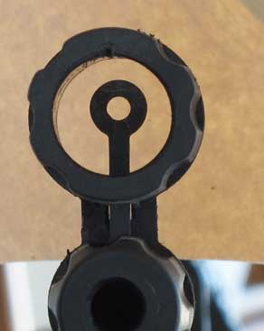 IZH 60 Target Pro air rifle front sight