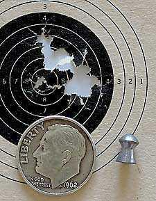 IZH 60 Target Pro air rifle Baracuda Target1