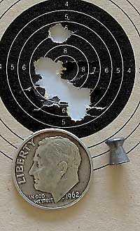 IZH 60 Target Pro air rifle Finale Match Pistol target