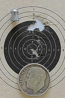 IZH 60 Target Pro air rifle HN Baracuda target2