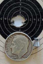 IZH 60 Target Pro air rifle FWB 300S target