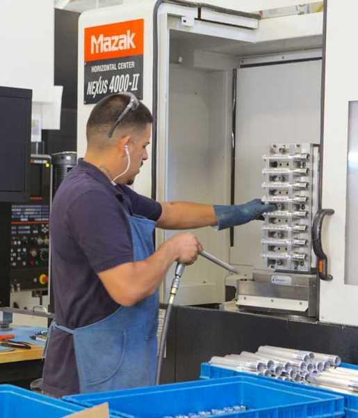CNC machinining center