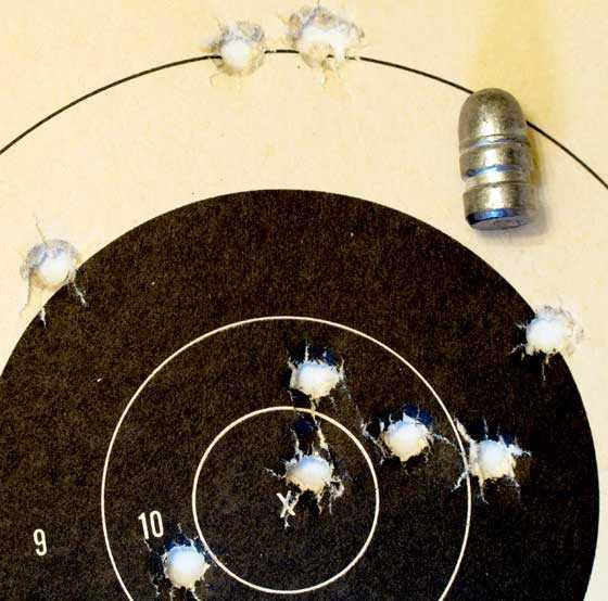 benjamin Rogue epcp big bore air rifle Benjamin Pursuit 158 grain bullet target