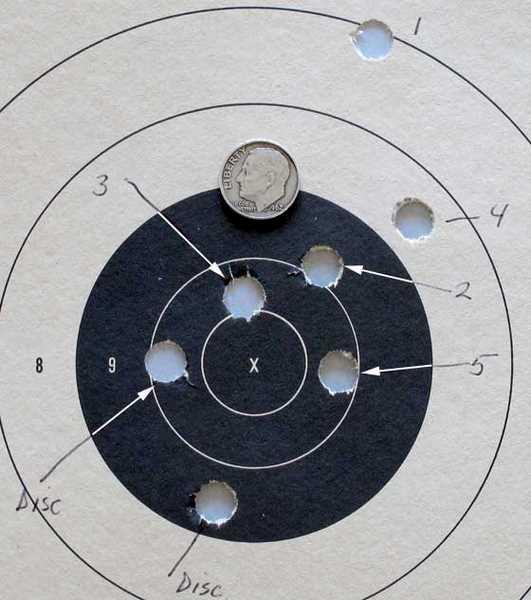 Benjamin Rogue epcp big bore air rifle wadcutter bullet target