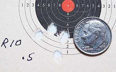 RWS R10 Pistol target for IZH 61