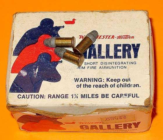 22 short gallery ammo