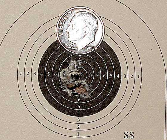 10 shot test target10