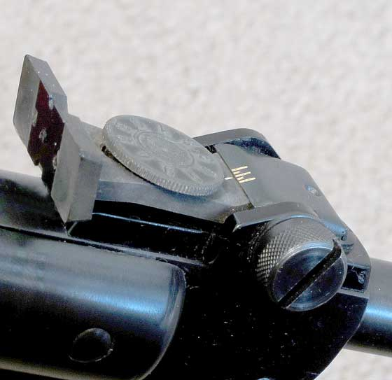 Diana 25 rear sight