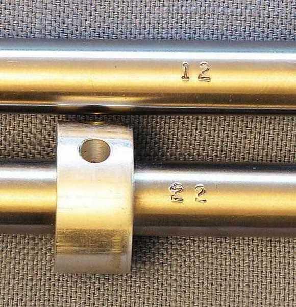 Talon SS precharged air rifle twist rate test barrel markings