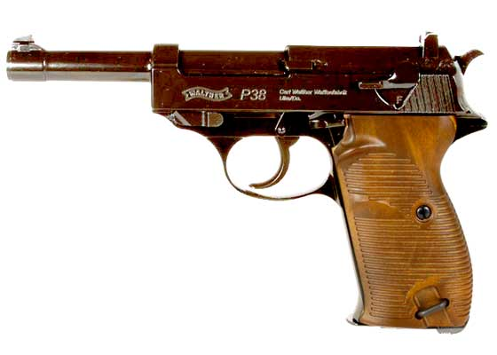 Walther P38 CO2 BB pistol left
