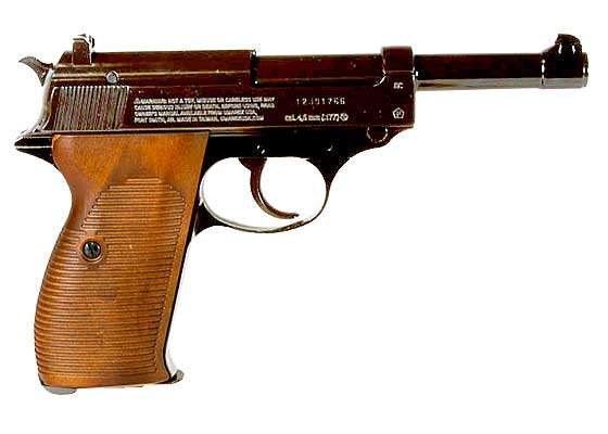 Walther P38 CO2 BB pistol right