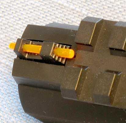 Umarex MORPH 3X Pistol front sight