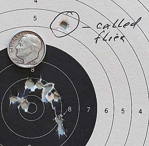Hatsan Supercharger breakbarrel air pistol target 2