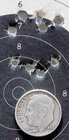 El Gamo 68 XP breakbarrel air rifle Air Arms Falcon target