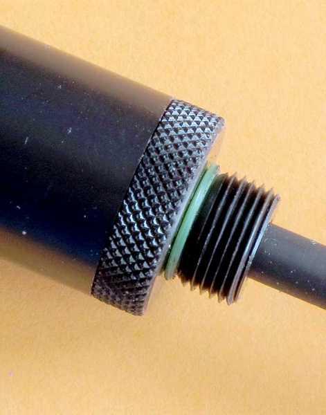 Umarex MORPH 3X Rifle barrel extension thread detail