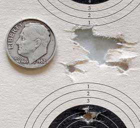 Falke 90 Eley Wasp target