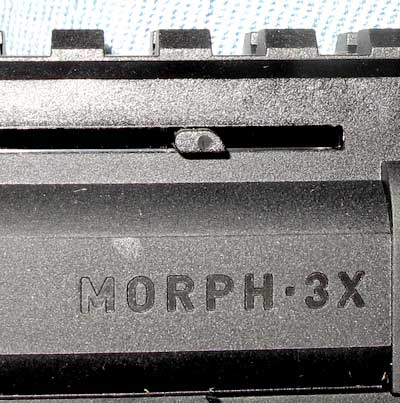 Umarex Morph 3X pistol BB magazine follower