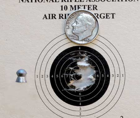 new AirForce Condor 50 yard target