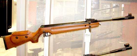 Walther LGV rifle